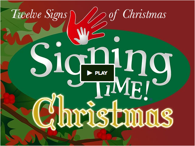 Sign Christmas in ASL